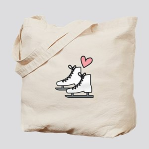 Love Ice Skating Tote Bag
